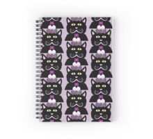 Kitty with Pink bows Spiral Notebook