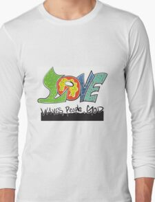 Love for waves,people,God T-Shirt