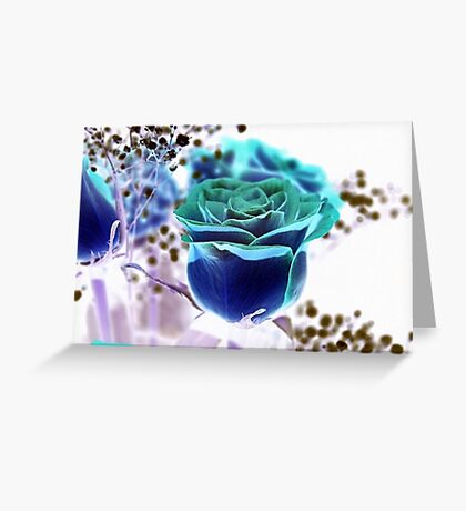 UNIQUE ROSE Greeting Card