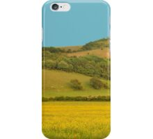 Panorama of South Downs, Sussex iPhone Case/Skin