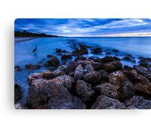 Florida Beach Sunset Canvas Print