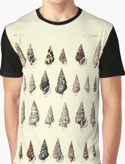 Thesaurus conchyliorum Monographs of genera of shells George Brettingham Sowerby 1887 V1-V5 183 Graphic T-Shirt