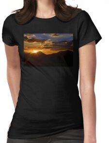 Sunset in Utah 2 Womens Fitted T-Shirt