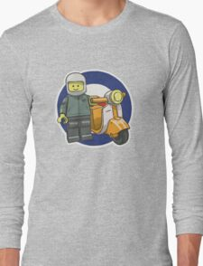 Lego Scooterist Long Sleeve T-Shirt