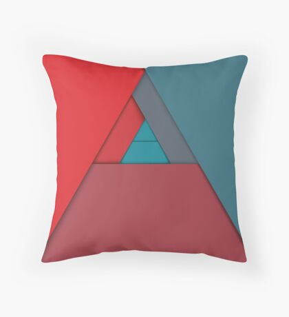 Modern Material Design Throw Pillow