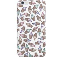 Summer Ice Cream Swirly Cones Watercolor Pattern iPhone Case/Skin