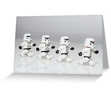 Storm Trooper March Greeting Card