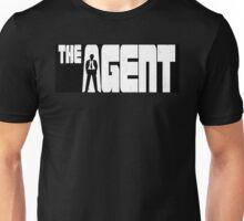 The Agent Maurer Silhouette Logo Reversed Unisex T-Shirt