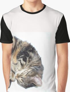 Sleepy kitty Graphic T-Shirt