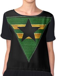 Firefly: Browncoat Logo (Patch) Chiffon Top
