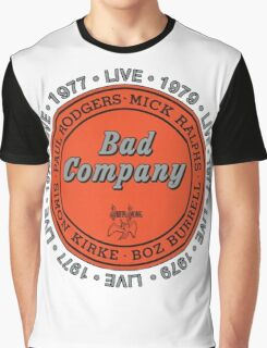 Bad Company BAD CO Graphic T-Shirt