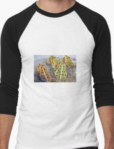 Frogs Men's Baseball ¾ T-Shirt