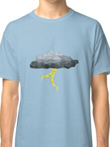 Thunder Cloud Low Poly Classic T-Shirt