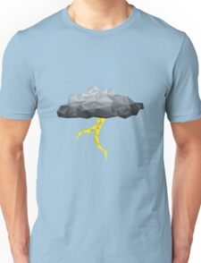 Thunder Cloud Low Poly Unisex T-Shirt