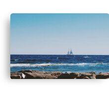 Blue (Sainte-Maxime) Canvas Print