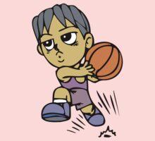 Basketball cartoon art One Piece - Long Sleeve