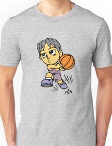 Basketball cartoon art Unisex T-Shirt