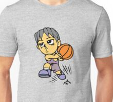 Basketball cartoon art Unisex T-Shirt