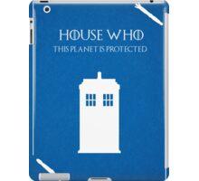 House Who iPad Case/Skin