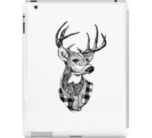 Posh Deer Drawing iPad Case/Skin