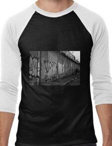 City Living Men's Baseball ¾ T-Shirt