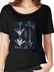 Etude de la Plante Maurice Pillard Verneuil 1903 156 Plant Study Botany Inverted Women's Relaxed Fit T-Shirt