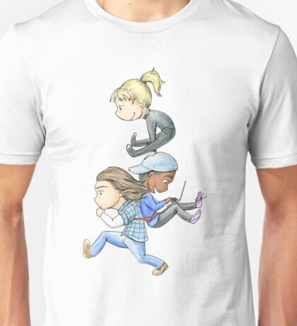 Three of a Kind Unisex T-Shirt