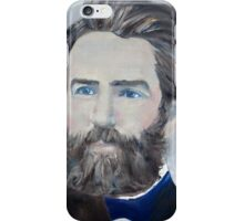HERMAN MELVILLE - oil portrait iPhone Case/Skin