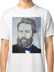 HERMAN MELVILLE - oil portrait Classic T-Shirt