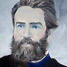 HERMAN MELVILLE - oil portrait by lautir