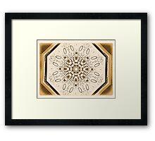 DESIGN Framed Print