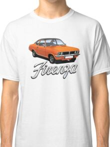 Vauxhall Firenza illustration, orange with black top Classic T-Shirt