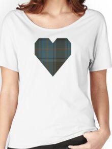 Eastonian National Tartan  Women's Relaxed Fit T-Shirt