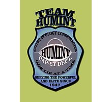Team HUMINT's Games T-Shirt (UFO BP Div.) Photographic Print
