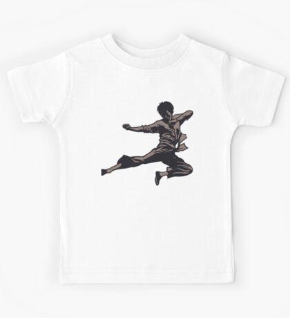 Kung Fu character series Kids Tee