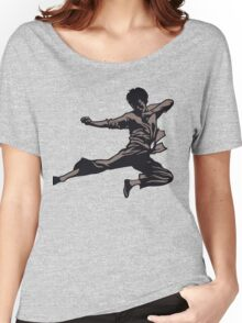 Kung Fu character series Women's Relaxed Fit T-Shirt