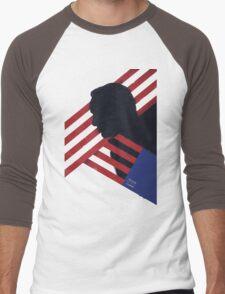frank underwood Men's Baseball ¾ T-Shirt