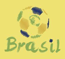 Brazilian soccer football One Piece - Short Sleeve