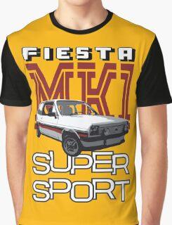 Ford Fiesta Super-Sport Classic Car T-shirts Graphic T-Shirt