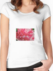 Peony Women's Fitted Scoop T-Shirt
