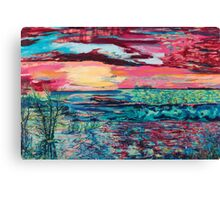 Rivers Flow Canvas Print