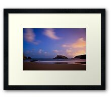 Arnia Beach Framed Print