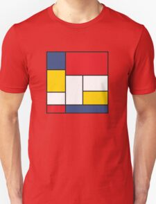 In the Style of Mondrian Unisex T-Shirt