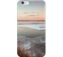Lake Sunset in Winter iPhone Case/Skin