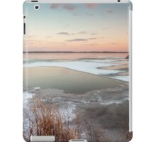 Lake Sunset in Winter iPad Case/Skin