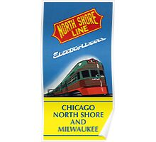 North Shore Electroliner Poster