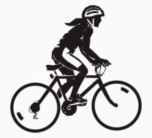 Sterne bike rider design Kids Tee