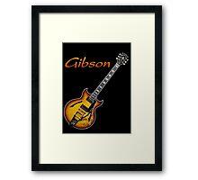 Cool Gibson Framed Print