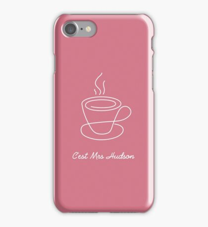 This is Mrs Hudson iPhone Case/Skin
