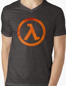 °GEEK° Half Life Mens V-Neck T-Shirt